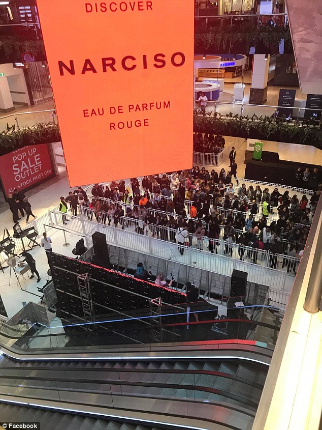 Chaos as thousands of women storm Sephora to get their hands on free makeup worth $550