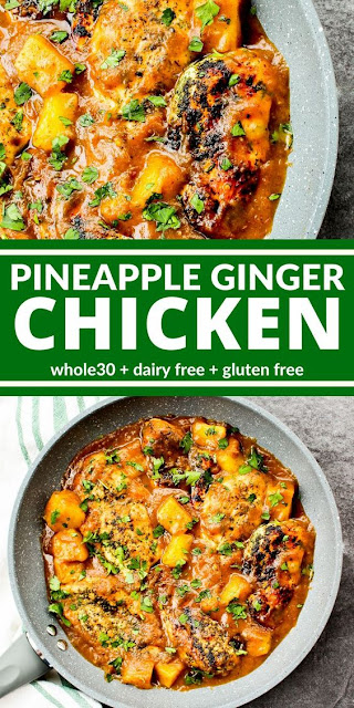 Pineapple Gingger Chicken