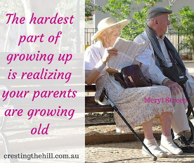 the hardest part of growing up is realizing your parents are growing old