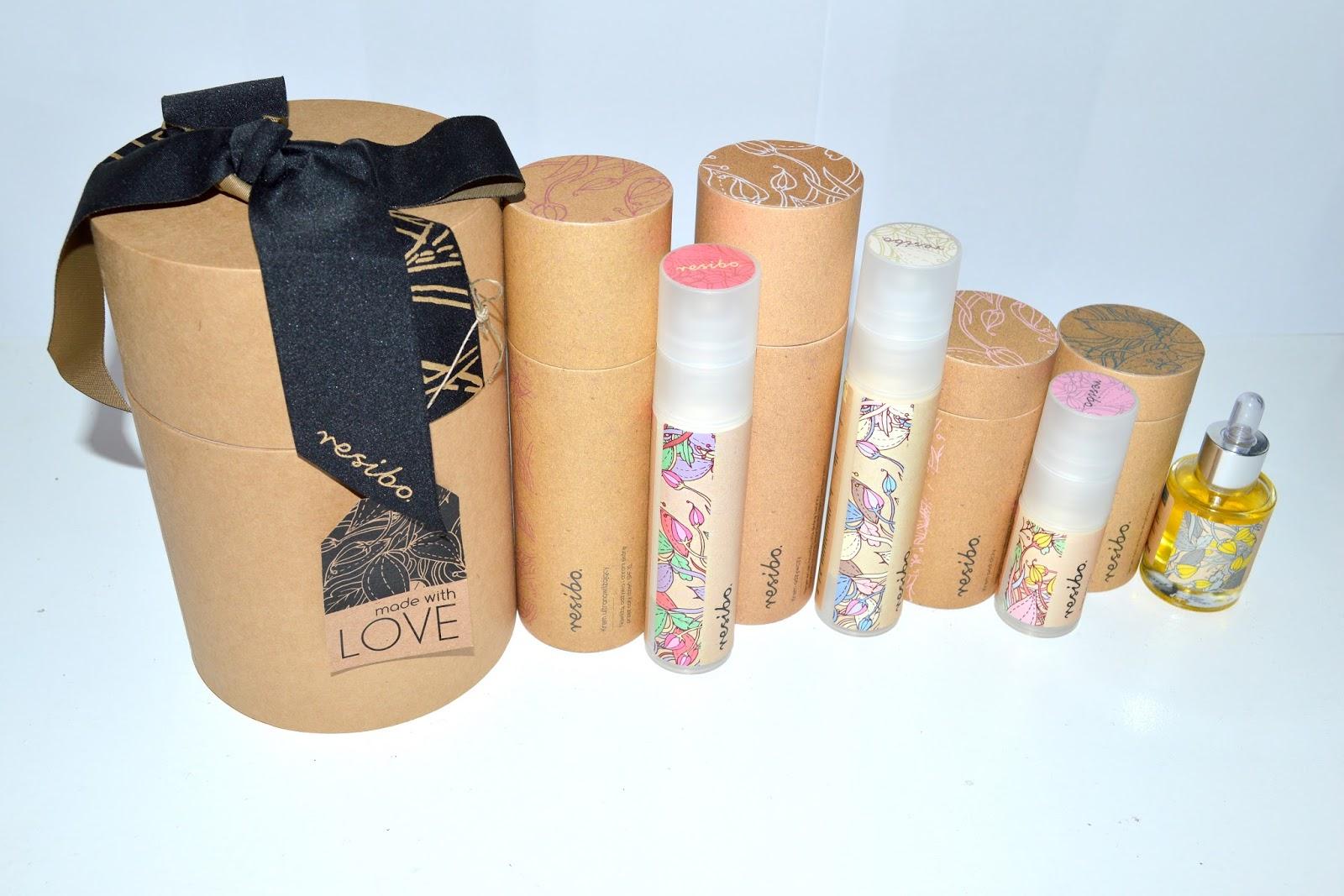 kosmetyki resibo, jakubowy blog.