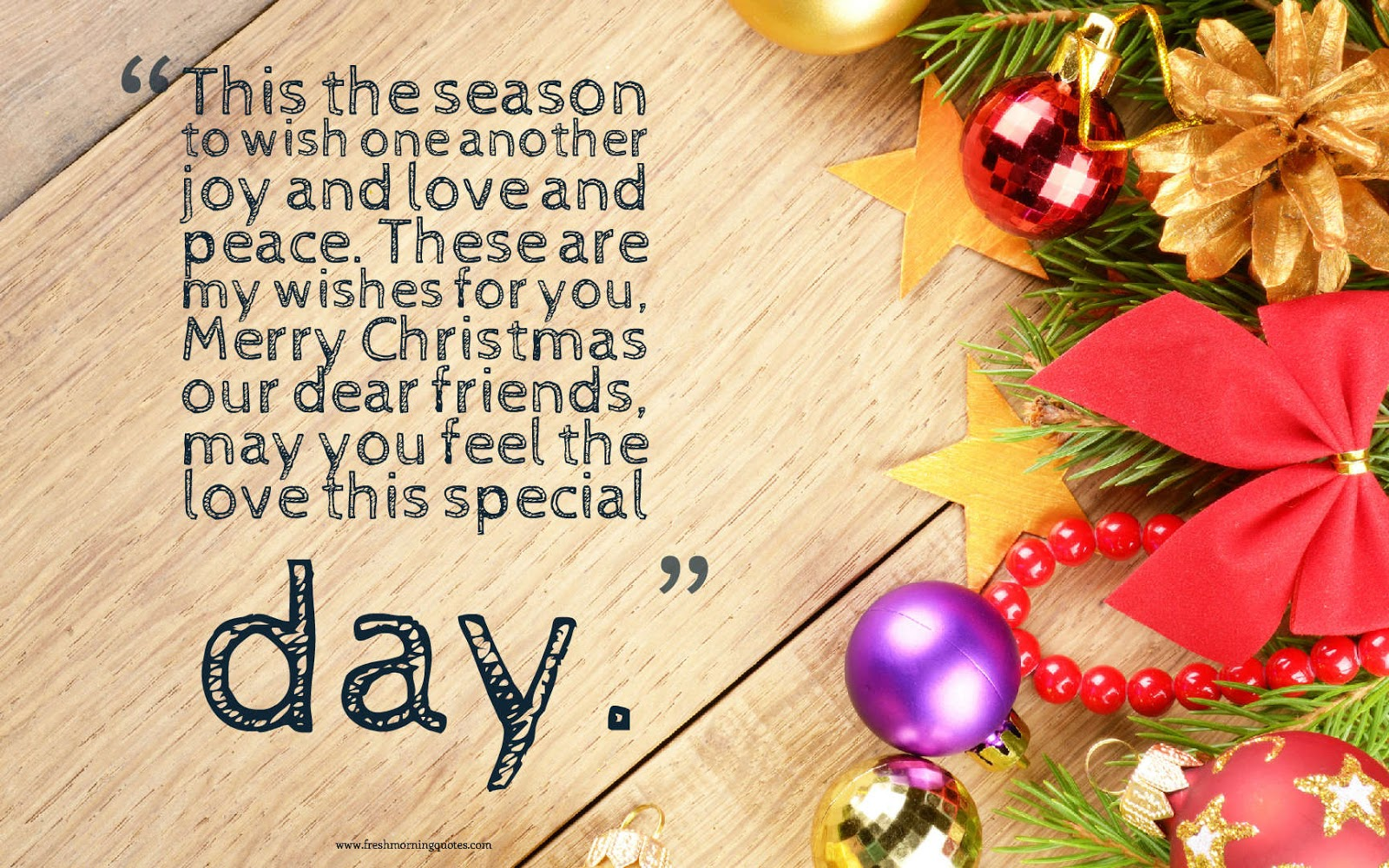 100 Heart Touching Merry Christmas Wishes Freshmorningquotes
