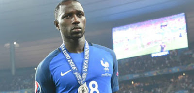 Moussa Sissoko posing for photograph during Euro 2016 final