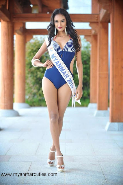 Miss Asia Pacific World Myanmar 2014- May Myat Noe
