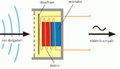 Sesin elektrik sinyaline çevrilmesi