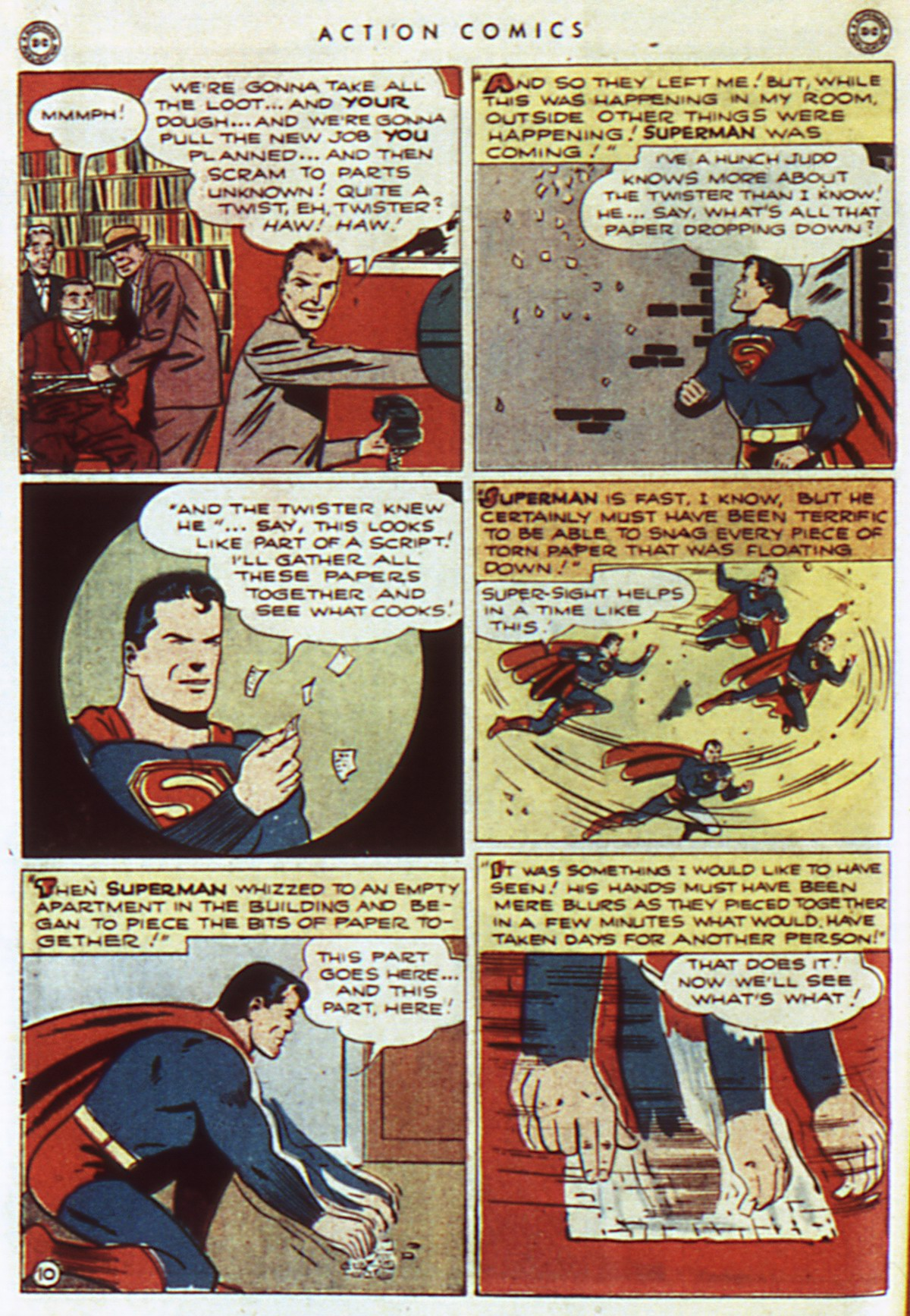 Read online Action Comics (1938) comic -  Issue #96 - 12