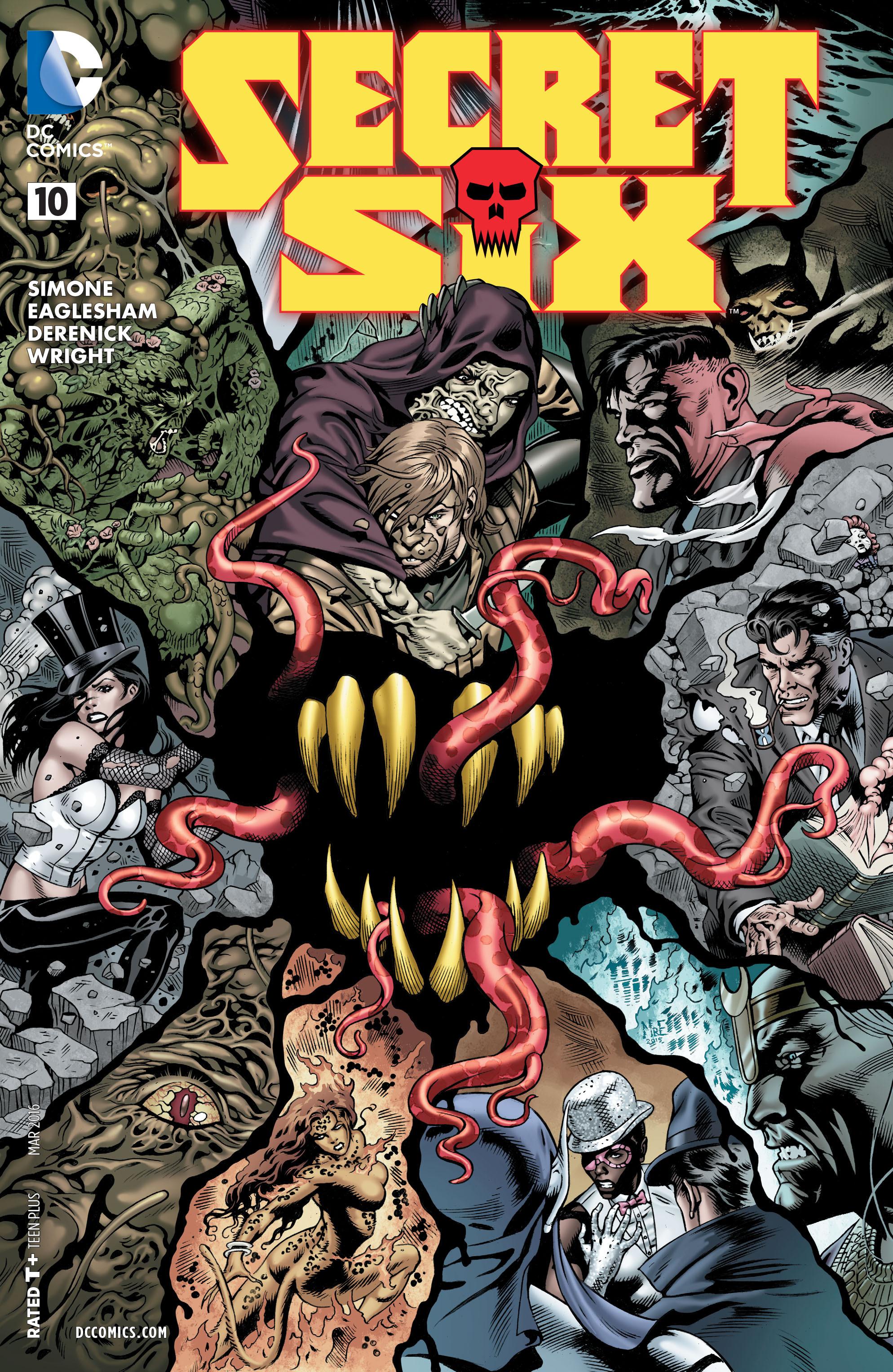 Read online Secret Six (2015) comic -  Issue #10 - 1