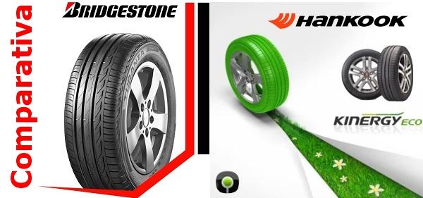 Comparativa neumáticos Bridgestone y Hankook