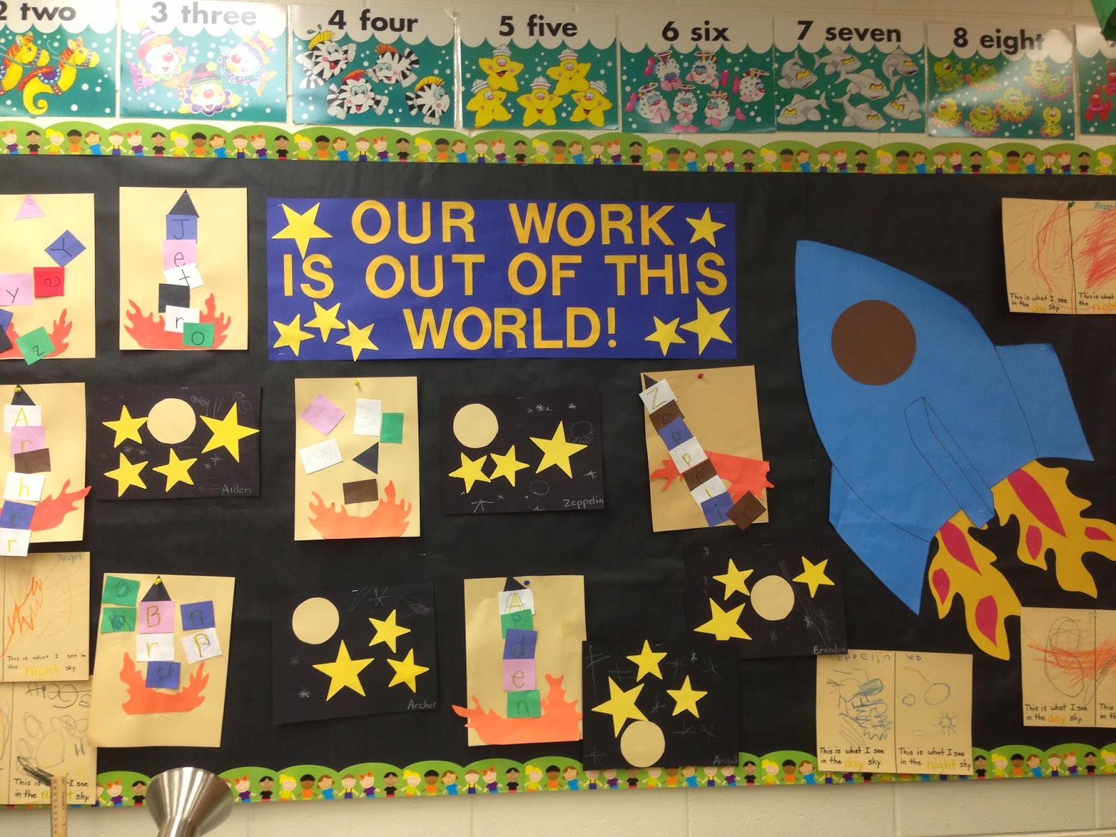 Too Many Crafts Too Little Time Pre K Week 5 Space