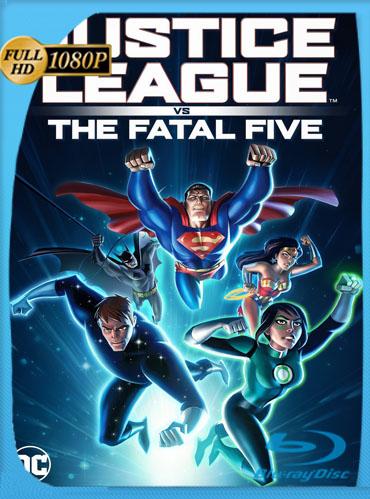 Justice League vs. the Fatal Five (2019) HD [1080p] Latino Dual [GoogleDrive] TeslavoHD