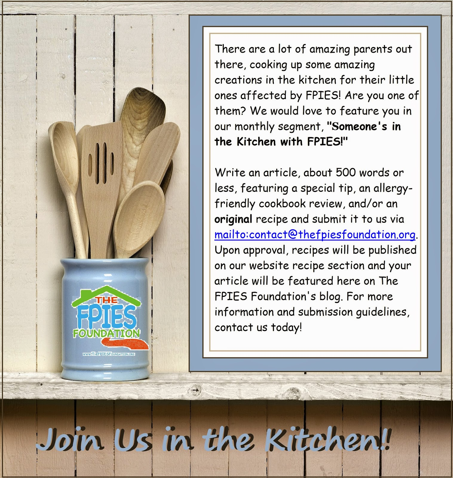 Fpies Home The Blog Of The Fpies Foundation Someone S In The