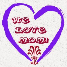 we love mom button