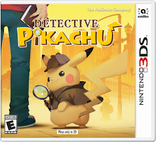 Nintendo Detective Pikachu 3ds video game