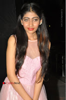 Actress Nidhisha Reddy Pos in Beautiful Pink Dress at Virus Telugu Movie Audio Launch .COM 0018.JPG
