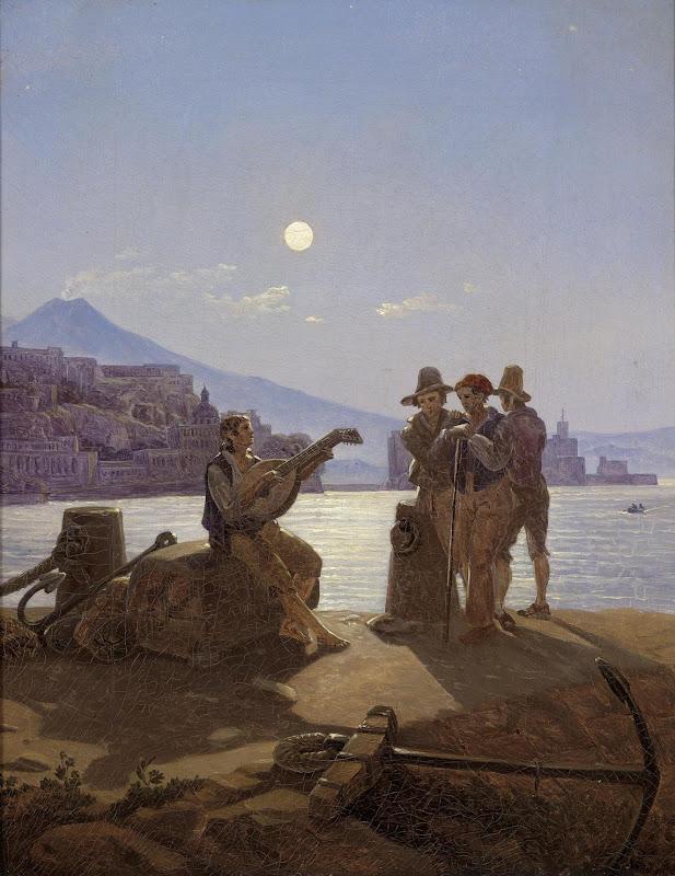 Carl Gustav Carus - Italienische Fischer 1828-29