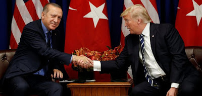 رجب طيب اردوغان, دونالد ترامب, تركيا, الولايات المتحدة, مقتل خاشقجي, جمال خاشقجي, القنصلية السعودية,