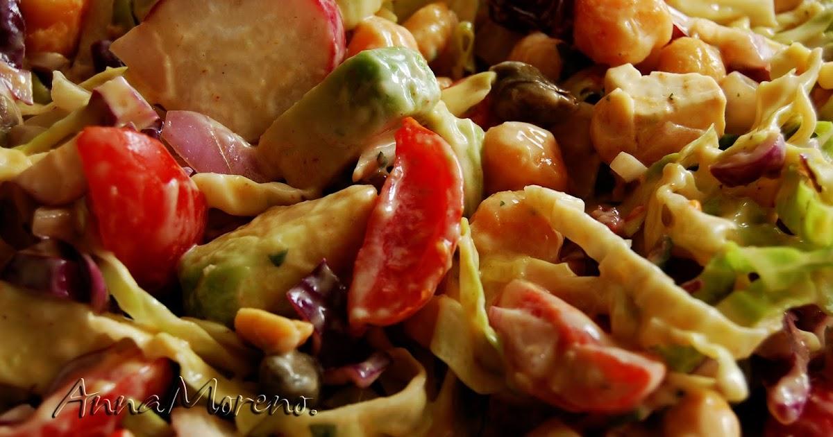 Buenas migas blog de cocina de anna moreno ensalada de for Como cocinar col lombarda