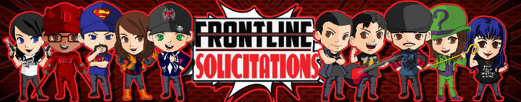 Frontline Comic Solicitations