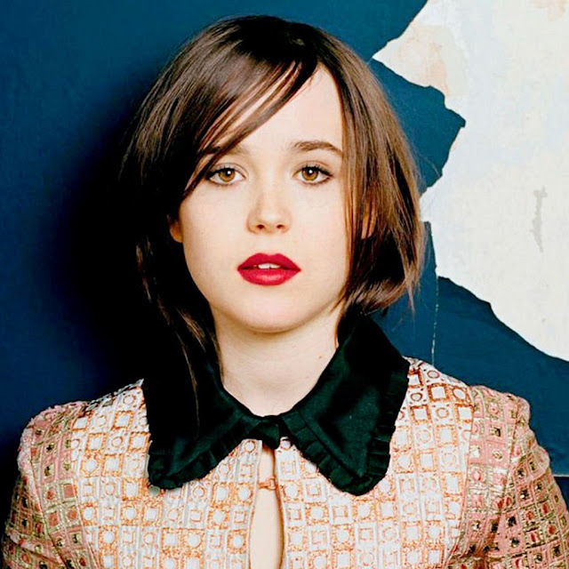 Canadian actress ellen page ipad wallpapers 1024x1024 02 for Ellen page hair color