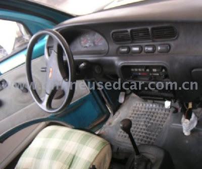 Wuling LZW6370 minivan mirip dengan Daihatsu Espass bagian Interior kabin