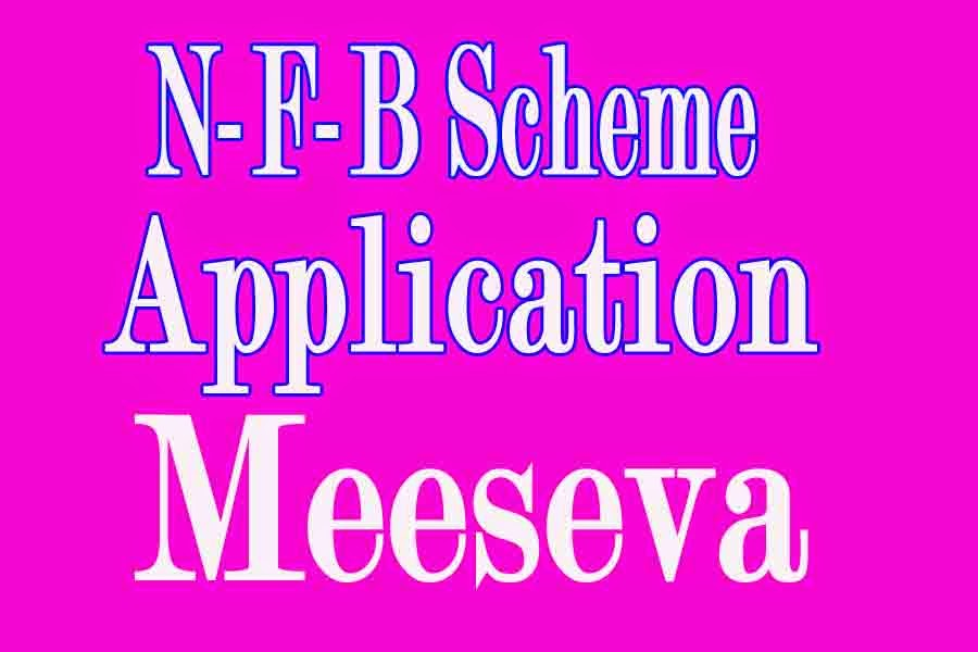National Family Benefit Scheme Application Apply in Meeseva