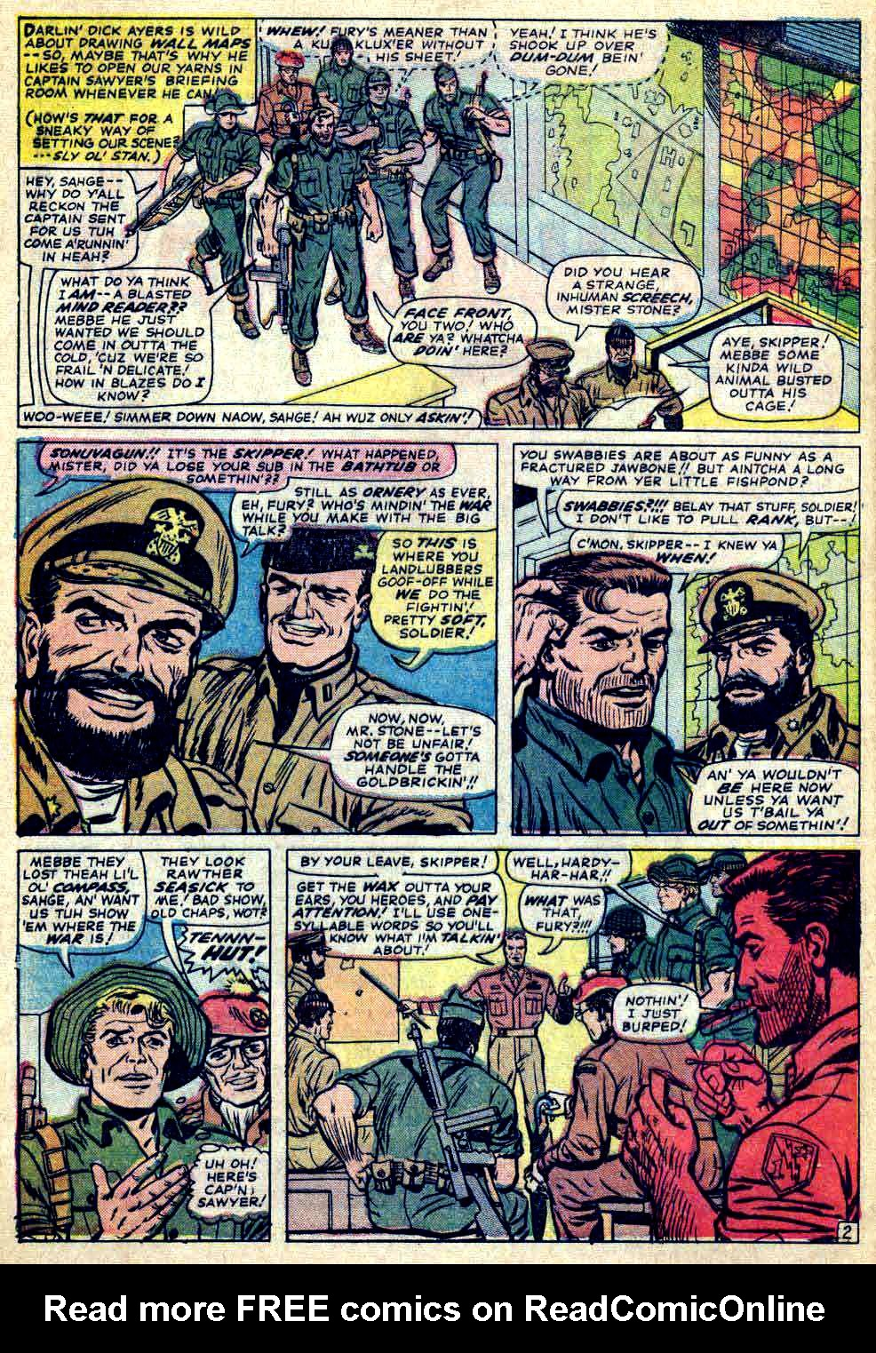 Read online Sgt. Fury comic -  Issue #26 - 4