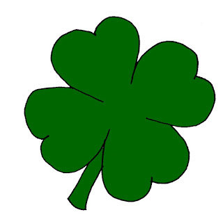 Free St. Patrick's day clip art green clover image