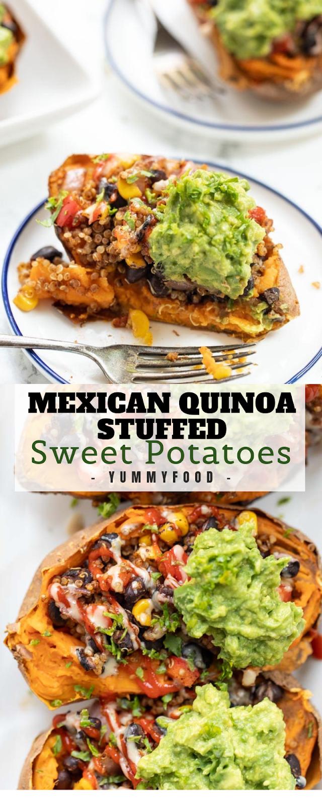 Mеxісаn Quinoa Stuffеd Sweet Pоtаtоеѕ