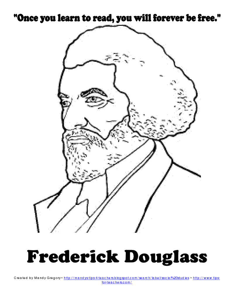American Heroes: Frederick Douglass and Eleanor Roosevelt