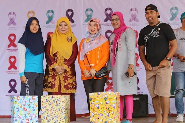 Peringatan Hari Kanker Sedunia di Pantai Gandoriah Sukses Edukasi Masyarakat