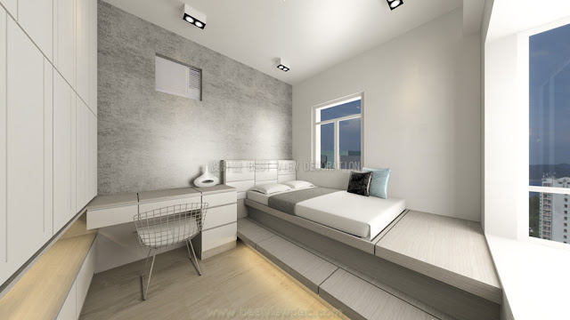 東港城睡房室內設計,計EAST POINT CITY bedroom interior design