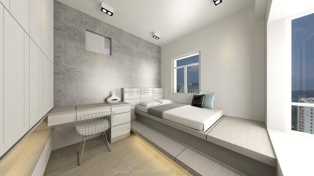 東港城睡房室內設計,計EAST POINT CITY bedroom interior design