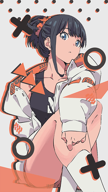 Takarada Rikka - SSSS.Gridman Wallpaper