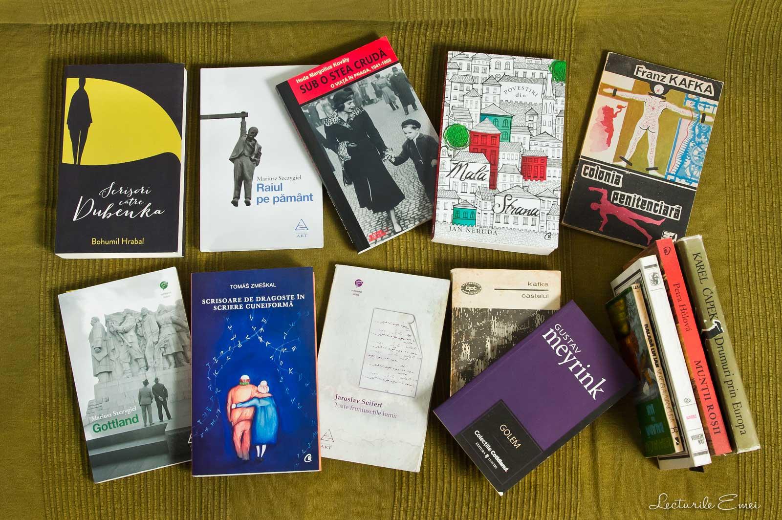 Carti despre Praga literatura ceha