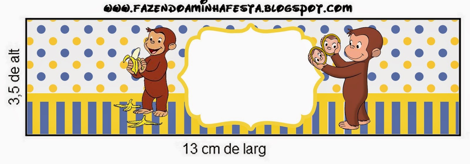 Jorge el Curioso: Etiquetas para Candy Bar Para Imprimir Gratis ...