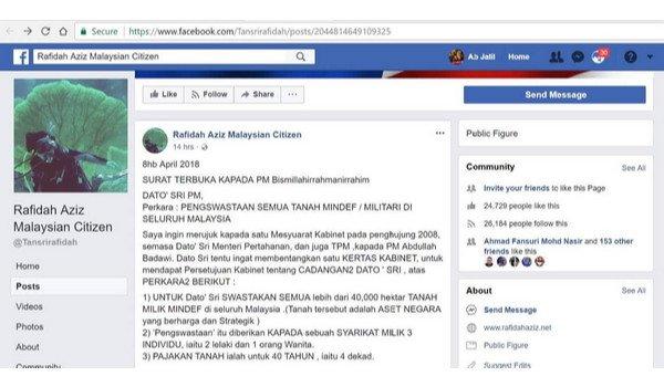 [Video] Hishammuddin Hussein jawab pembohongan Rafidah Aziz
