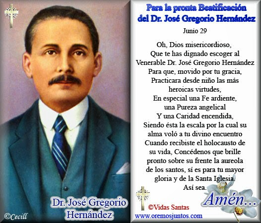 Lectura Ciencia Historia Y Opinion Al Dia Jose Gregorio Hernandez El Santo De Los Pobres