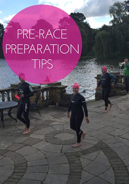 Pre-race preparation tips