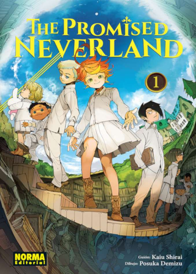 The Promised Neverland manga (Norma Editorial)
