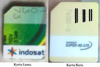 Upgrade kartu Indosatooredoo