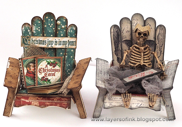 Layers of ink - Holiday Chairs Tutorial by Anna-Karin