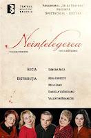 Un nou spectacol-lectura la Teatrul Municipal Bacovia: Neintelegerea