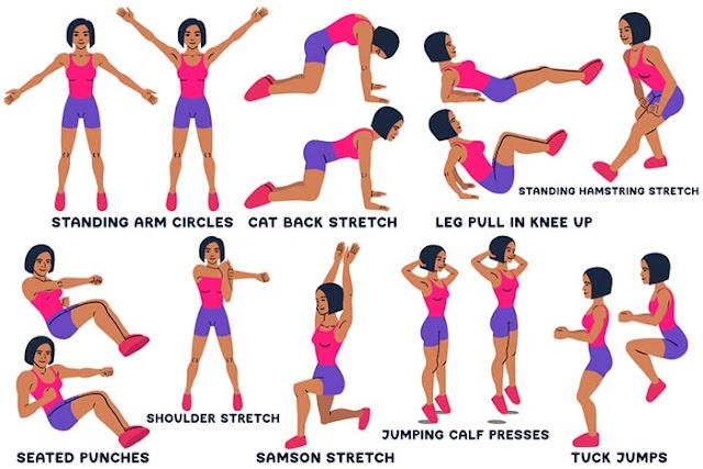 Arm Circles Exercises