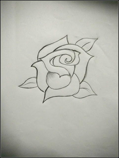 roses to draw