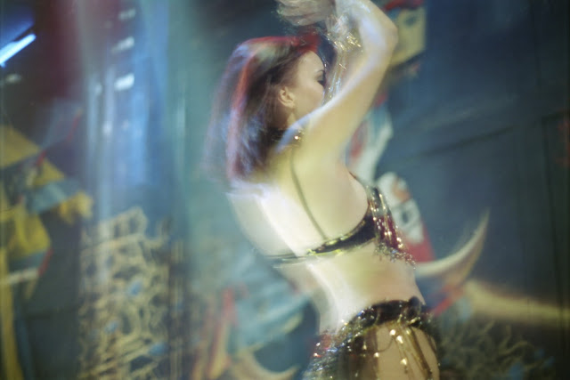 Ouzbékistan, Tachkent, danse, Aladin, © L. Gigout, 2001