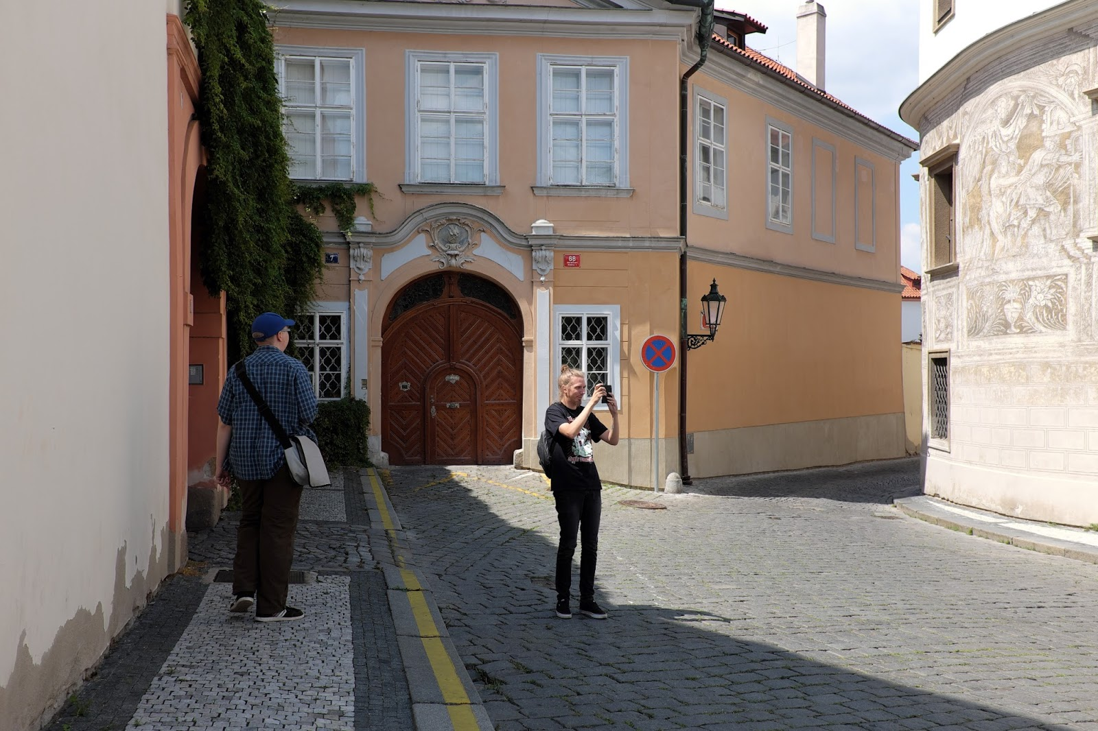 The Cinescapader Visiting Filming Locations Of Amadeus 1984 In Prague Czech Republic