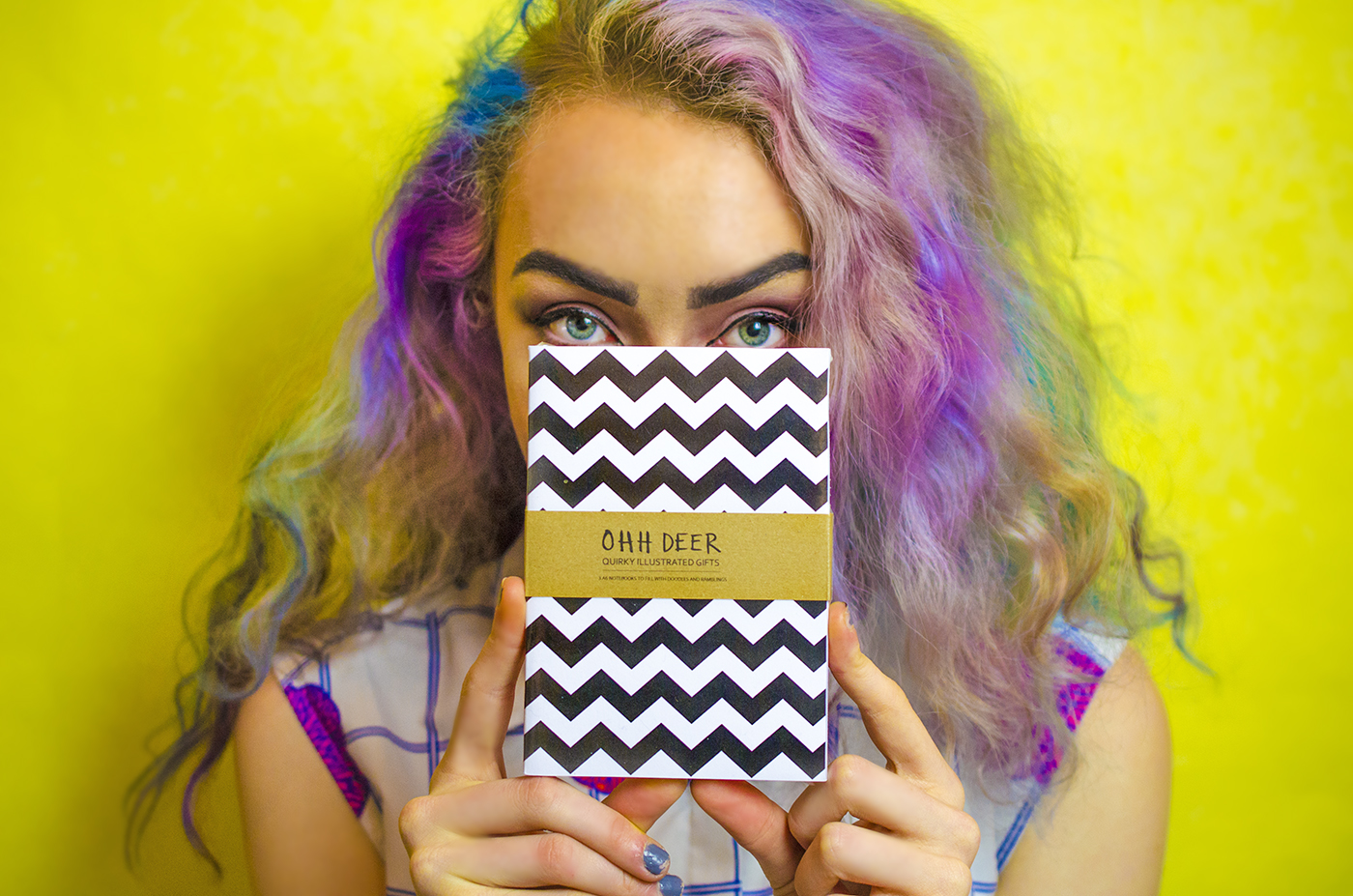 ohh deer review stephi lareine fashion blogger rainbow hair