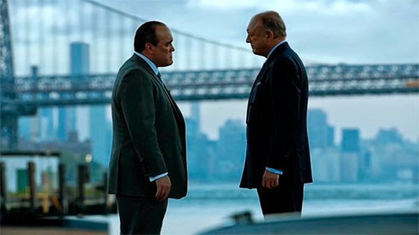 Maroni y Falcone en Gotham 1x07 - Penguin´s Umbrella