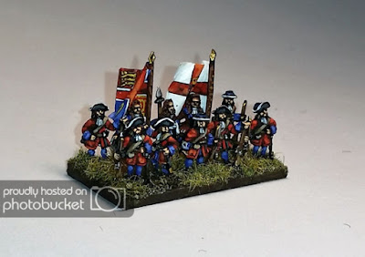 2nd place: James II Foot Guards, by redstef - wins £10 Pendraken credit!