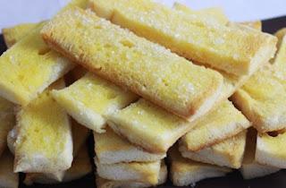 cara membuat roti kering