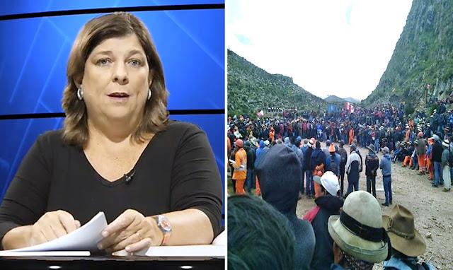 Resumen del conflicto en Las Bambas por Rosa María Palacios